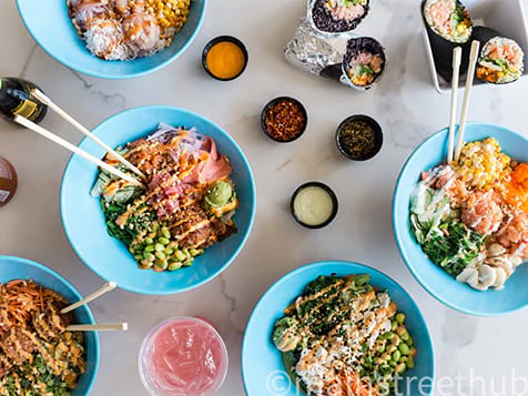 LemonShark Poke Franchise Menu Items