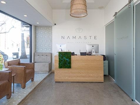 Namaste Nail Sanctuary Reception
