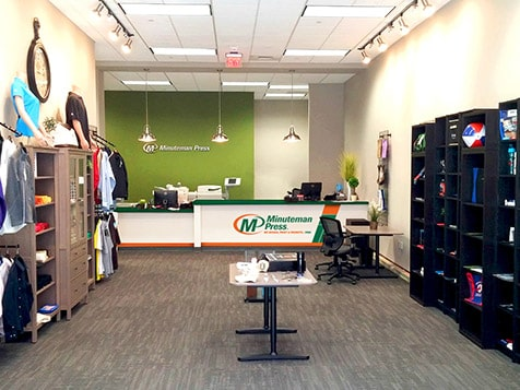 Minuteman Press Franchise Location
