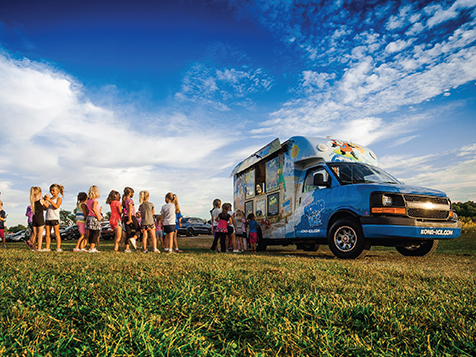 Kona Ice Franchise customers