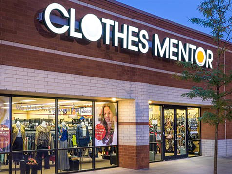 Clothes Mentor Franchise Storefront