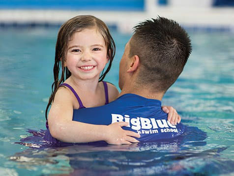 Big Blue Swim School Franchise lesson