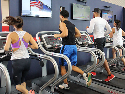 Cardio Room in a PickUp USA Franchise