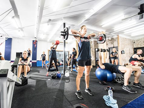 Inside a F45 Training Franchise