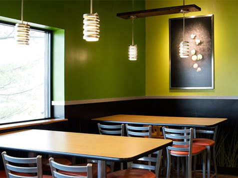 Saladworks Franchise Interior