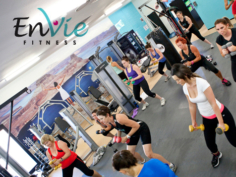 EnVie Fitnessb Franchise Womans Group Fitness Classes