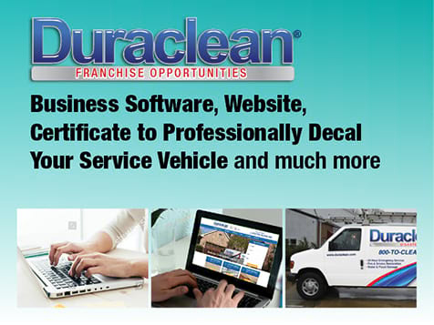 Duraclean Franchise Marketing