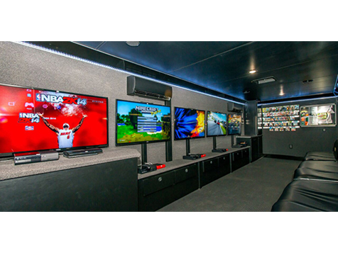 Inside a GameTruck franchise rig