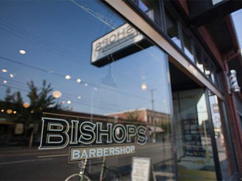 Bishops Barbershop Franchise Storefront