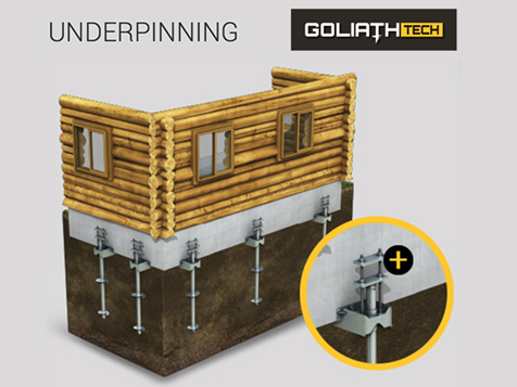GoliathTech Corp Franchise: Foundation Underpinning