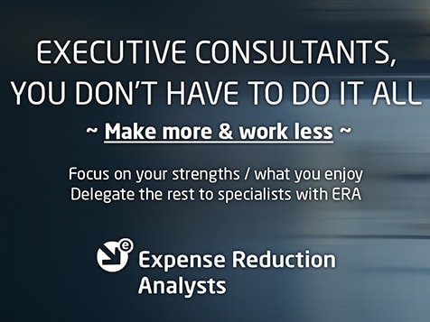 Become an Expense Reduction Analyst Consultant