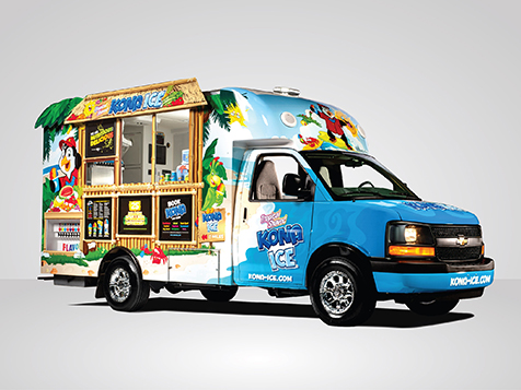 Kona Ice Franchise Vehicle
