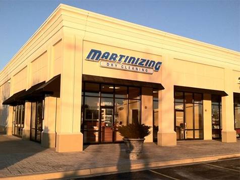 Martinizing Dry Cleaning Franchise Exterior