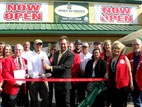 A HONEY DO SERVICE, Inc. franchise ribbon cutting ceremony