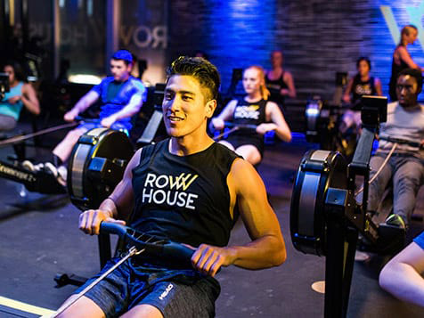 Rowing at a Row House Franchise