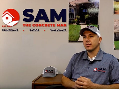 Sam The Concrete Man Franchisee, Chavis Kerby