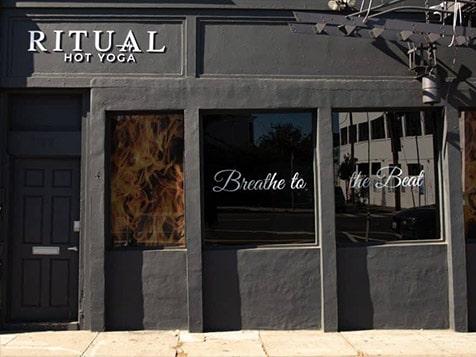 Ritual Hot Yoga Exterior