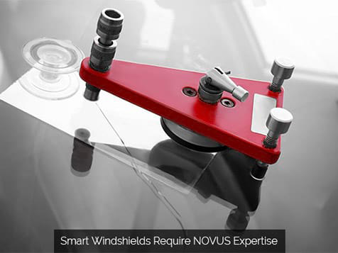 A NOVUS Auto Glass Repair & Replacement franchisee