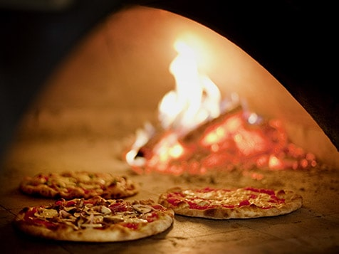 Originators of the Wood-Fired Pizza