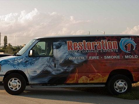 Restoration 1 Vehicle