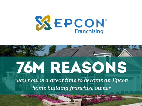 76M reasons why to become an Epcon Franchise Owner