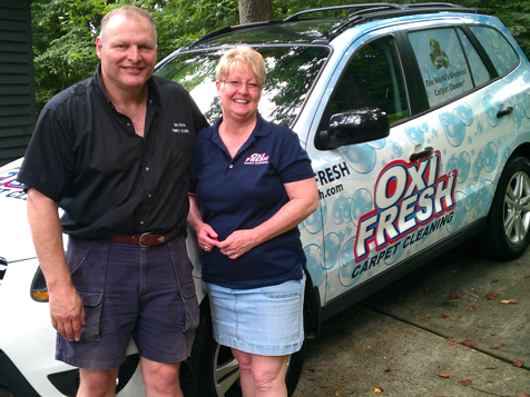 Oxi Fresh Carpet Cleaning Franchise Owners