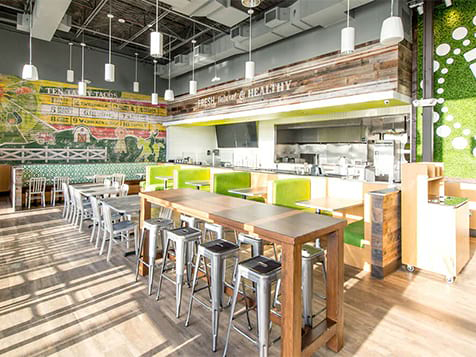 Uberrito Franchise Interior