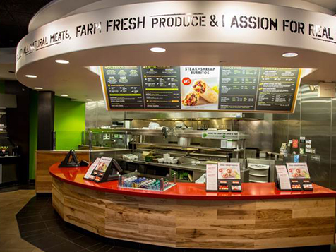 Inside a Baja Fresh Franchise