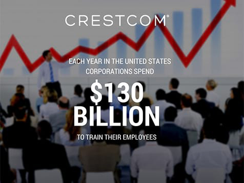 Crestcom Franchise - corporations spend $130 B on training