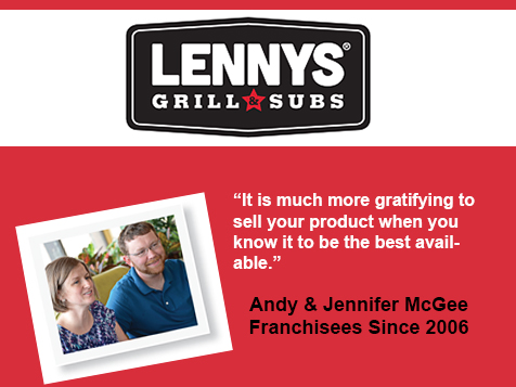Lennys Grill & Subs Franchisees