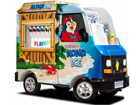 The Kona Ice Franchise Mini