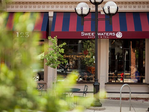 Sweetwaters Coffee & Tea Franchise Storefront