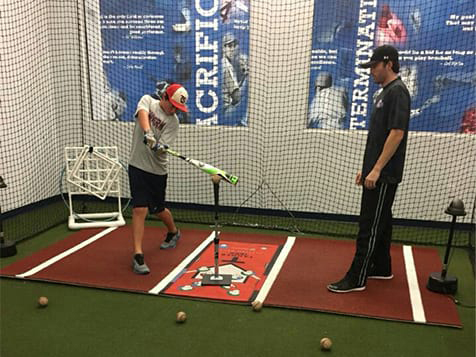The Hitting Academy Franchise Hitting Lesson