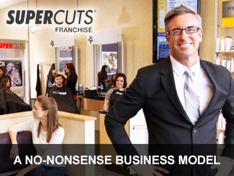 Build a successful business with Supercuts Franchises