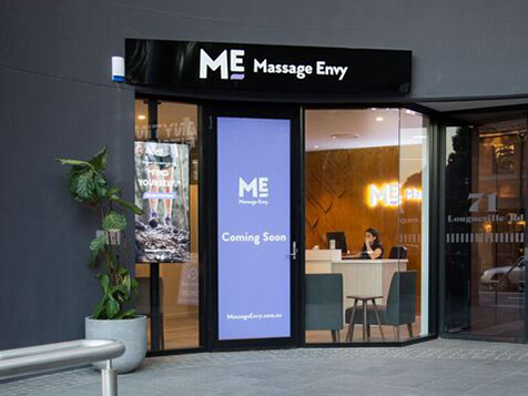 Outside a Massage Envy Franchise