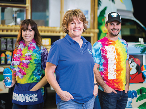 A Mobile Kona Ice Franchise Team