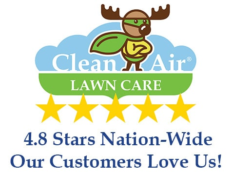 Clean Air Lawn Care Franchise Has a 4.8 Star Customer Rating