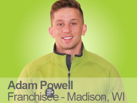 You Move Me Franchisee Adam Powell