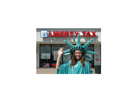 Outrageous marketing is paramount to the success of the Liberty Tax Service offices
