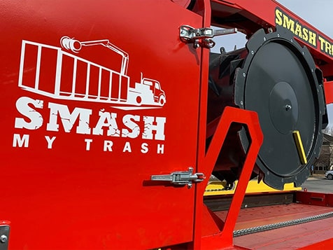 Smash My Trash Franchise Branding