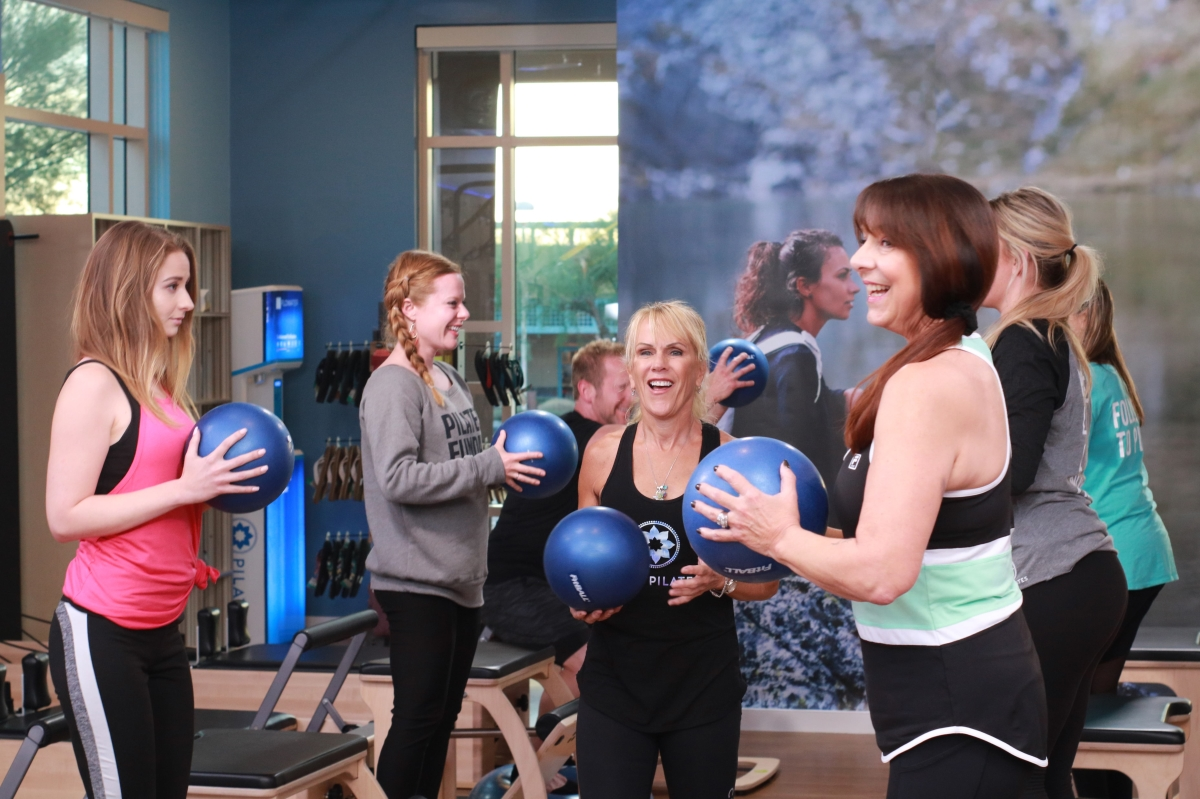 Club Pilates Franchise - Medicine Balls