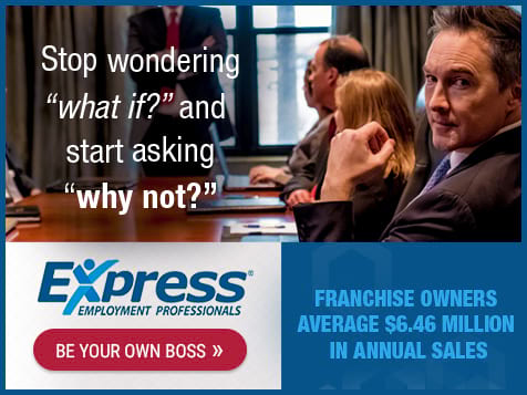 Express Employment Professionals Franchise - Start Now