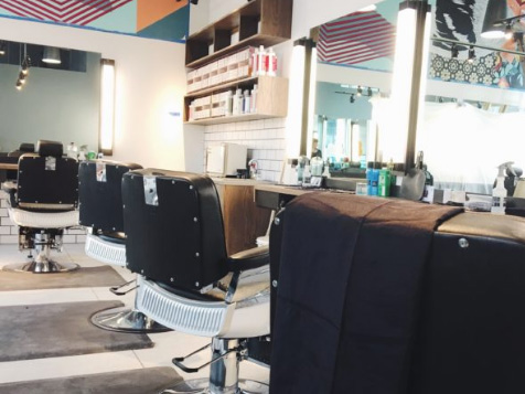 Seating in a Bishops Barbershop Franchise