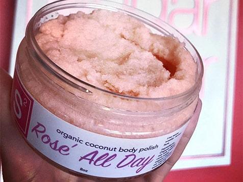 Rose All Day Organic Cocount Body Polish
