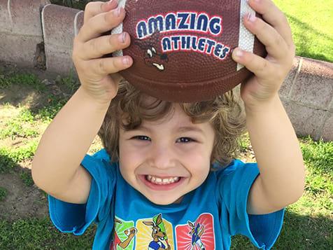 Amazing Athletes Franchise Football for Tots