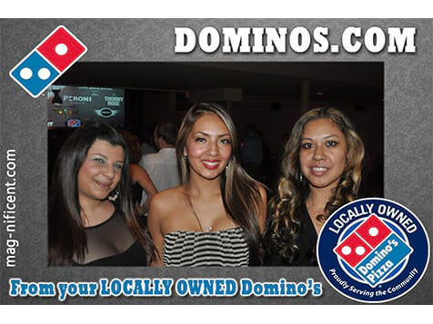 Mag-nificent Photo Magnet - Dominos