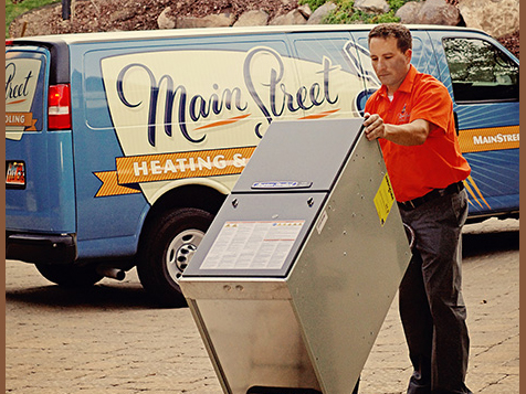 Main Street Heating & Cooling franchise provides top notch service