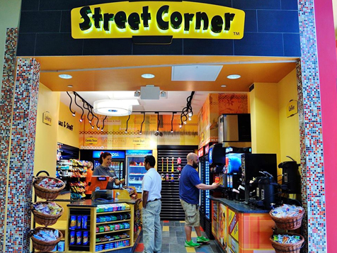 Street Corner Convenience Store Franchise