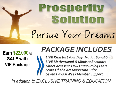 Earn $20,000 per month with Prosperity Solution Business Opportunity