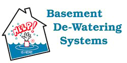 Basement De-Watering Systems